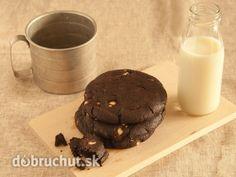 Kakaové sušienky bez múky Cookies, Chocolate, Fit, Desserts, Crack Crackers, Tailgate Desserts, Deserts, Shape, Biscuits