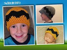 eeb83adf45a NEW! Crochet Robin Hood Hat pattern from Hats-Mittens-Socks