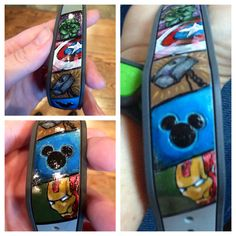 Painted Avengers Magic Band for Disney