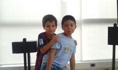 Niños Diego y John
