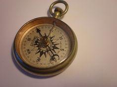 Vintage Antique Compass 1915 Beautiful condition by MissAntique, $41.00