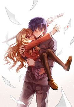 Toradora - Taiga & Ryuuji