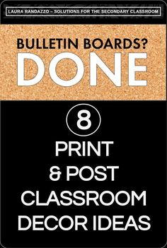 Looking for free/inexpensive materials that'll bring life to drab classroom walls and bulletin boards?