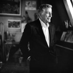 Tony Bennett served in WWII in the infantry then came home and signed on with Columbia records. Of his many songs his most famous is I Left My Heart In San Francisco. Winner of 17 grammy awards and sold over 50 million records world wide. With his jazz he made an astounding comeback in the 1990's and 2000's regaining popularity with young audiences continuing his legacy to spanning sixty. years
