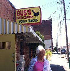 Gus's World Famous Fried Chicken, Memphis, TN