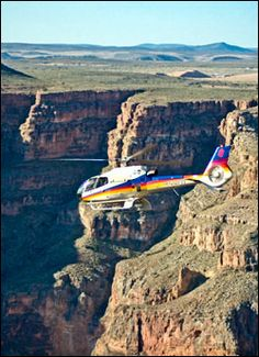 Grand Canyon Helicopter Air Tour starting in Las Vegas