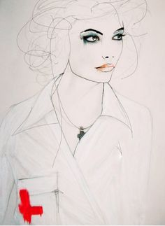 """강렬함이 묻어나는 패션 일러스트레이터 """"Leigh Viner""""~ :: 네이버 블로그"""