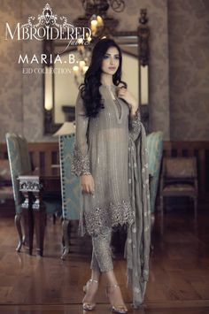 Maria.B is a brand name of royals. It is the top most affectionate, mainly awaiting brand in all seasons and for all events of ladies clothing. In every season, her designs are highly appreciated and enjoy by women of all ages, all praise of designing is goes to the designer Maria Butt about her collections.