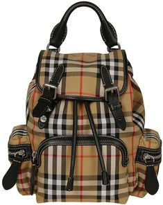 Burberry Small Vintage Check Backpack 544a60dd093df