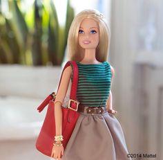 Barbie & her Coach Bag!