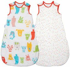 Grobag Wash & Wear Twin Pack Spotty Bear 1.0 Tog (6-18 Months): Amazon.co.uk: Baby
