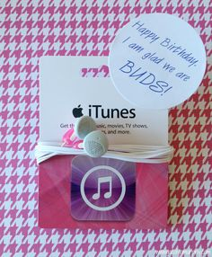 Wrap Music...3 fun ways to package iTunes Gift Cards