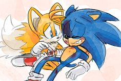 """425- """"Huh? No. I did get one from Blaze. I haven't looked at it yet. Let's see... oh. My. Gosh. Tails! Tails look at this!"""" """"What is it? Oh my word! This is too funny!"""" """"He looks like he's only as tall as you!"""" """"I know! And he's riding on Tabby's shoulders! This is awesome!"""" """"I knew you two would like that!"""" Sonic grinned. """"I will have to show that to Cream!"""" """"Oh, how is the little tyke? I haven't seen her in a while."""" """"Neither have I."""" """"She's good."""" Tails said, """"Been worried about you…"""