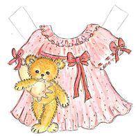 Print den søde lille pige og hendes fine kjole her.