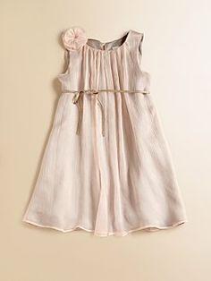 Marie Chantal    Toddler's & Little Girl's Crinkle Silk Dress  $174.00