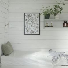 my scandinavian home: An idyllic Finnish cottage with an outdoor summer kitchen Dream Bedroom, Home Bedroom, Bedroom Decor, Bedrooms, Beddinge, Interior And Exterior, Interior Design, Summer Kitchen, Kitchen Time