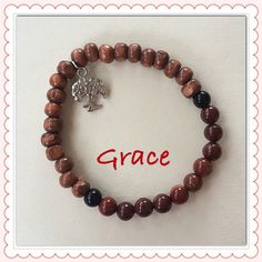 Grounding Bracelets - Seven Chakra Jewelry Collection by Expressions of Grace.  Therapeutic Healing Crystals for Energy Balance and Natural Healing. Meditation Bracelets. Yoga Bracelets. Kundalini Meditation. Namaste.  Let the unboxing begin!