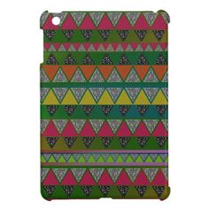 Shop for Colorful iPad cases and covers for the iPad Pro or Mini. No matter which iteration you own we have an iPad case for you! Ipad Mini Cases, Ipad Case, Ipad 1, Tribal Prints, Cool Items, Apple, Friends, Cover, Design
