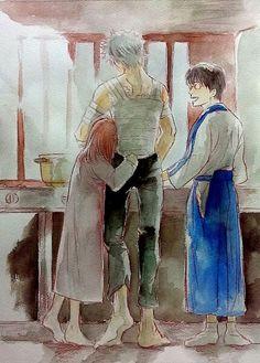 Gintama: Gintoki, Kagura, and Shinpachi