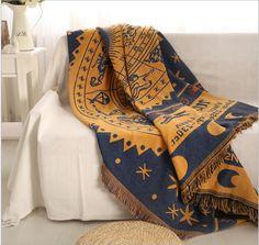 Constellation tricoté canapé serviette couverture couverture couverture salon chambre tapis doux carpet couvre lit nappe chaise coussin dans Tapis de Maison & Jardin sur AliExpress.com | Alibaba Group