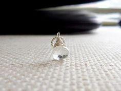 Buy Now Sm - Clear Quartz Pendant - Quartz Necklace Add On -...