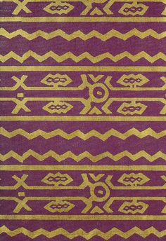 ♦ tribal textile