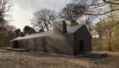 Brouwhuis was categoriewinnaar Particuliere Woonbeleving van Gebouw van het Jaar 2015. Een echt 'boshuis'.
