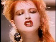 cindy lauper, girls just want to have fun