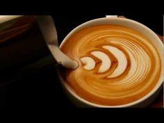 Latte Art Coffee Design Book - 05 Large Tulip