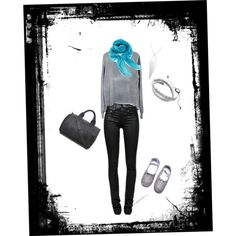 """""""Charcoal Linge Shoes"""" by lingeshoes on Polyvore"""