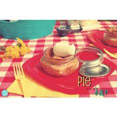 Pie In A Jar From Tidy Mom.  dessert in a jar