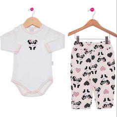 Conjunto Pijama Rosa Piu Piu