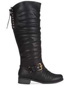 09da283f0493 XOXO Marcher Wide Calf Tall Boots Shoes - Boots - Macy s