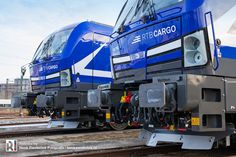 First two new Vectron locomotives for RTB Cargo