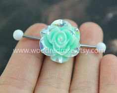 Hey, I found this really awesome Etsy listing at https://www.etsy.com/listing/202958082/white-fire-flower-industrial-barbell