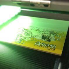 UV printer! #adsive