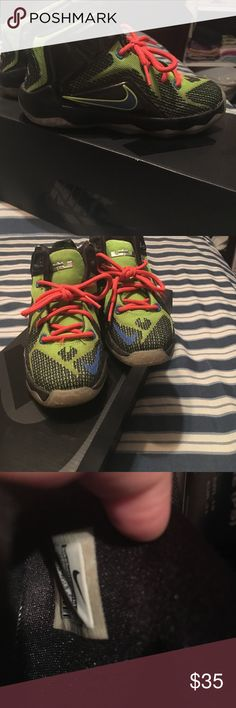 Boys Lebron James sneakers. In great condition Nike Shoes Sneakers