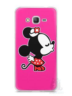 Capa Samsung Gran Prime Mickey e Minnie Beijo - SmartCases - Acessórios para celulares e tablets :)