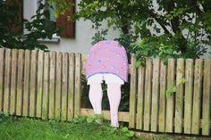 Pin on garden/outdoor stuff Pin on garden/outdoor stuff Garden Deco, Fence Art, Wooden Fence, Garden Fencing, Garden Trees, Yard Art, Garden Projects, Amazing Gardens, Outdoor Gardens
