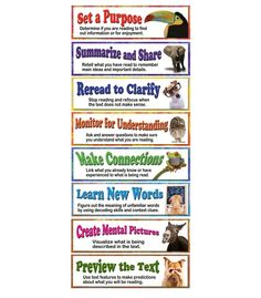 Building Reading Comprehension Skills Bulletin Board Set