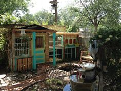 Chicken coop photo contest entry via The Chicken Chick on Facebook