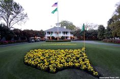 The Masters.....Love this weekend in Golf!