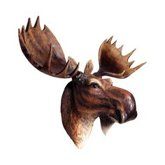 Have you ever spotted a real moose out in the wild? It's a sight to behold, an adventure to be had, and a story to be told. Now, this life-like plaque can make all that come true. (No need to tell frie...  Find the A-moosing Plaque, as seen in the Décor Collection at http://dotandbo.com/category/decor-and-pillows/for-the-wall/decor?utm_source=pinterest&utm_medium=organic&db_sku=103010