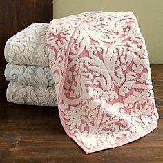 Hand Towels Bath Towels For Powder Room Marlo Jacquard