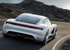 Porsche Offers a Pure Electric Sports Sedan: Konzept Studie Mission EAt Frankfurt this week, Porsche unveils its first all-electric four-seat sports car, the Mission E. Porsche claims Mission E can. Porsche 911, Porsche Panamera, Porsche Electric Car, Porsche Girl, Electric Car Concept, Electric Sports Car, Electric Vehicle, Volkswagen Jetta, Volkswagen Group