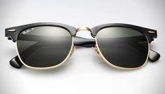 Ray-Ban Clubmaster Aluminum Sunglasses   HiConsumption