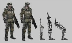 Early Call of Duty: Advanced Warfare Concept Art Tells The Story ...