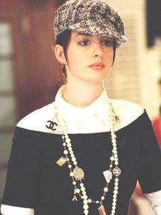映画「プラダを着た悪魔」のアン・ハサウェイをお手本に♪キャスケットがキュートなコーデ☆参考にしたいスタイル・ファッション♪