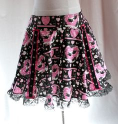 How To Sew a Circle Skirt tutorial