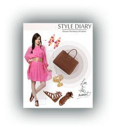 """Pink it Bohemian @karieshmasarnaa #ShopAtMayfair"" by atmayfair on Polyvore featuring O'Neill, Versace, Prada, GetTheLook, Bohemian, ShopAtMayfair and PolyvoreMostStylish"